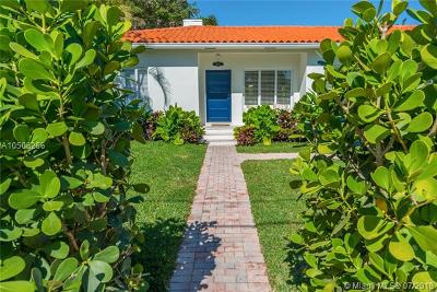 Miami Beach Single Family Home For Sale: 4460 N Jefferson Ave