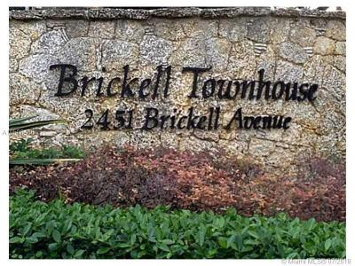 Brickell Townhouse, Brickell Townhouse Condo Condo For Sale