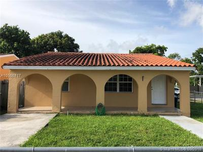 Miami-Dade County Single Family Home For Sale: 3048 NW 100th St