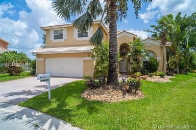 Miramar Single Family Home For Sale: 14671 SW 39th Ct