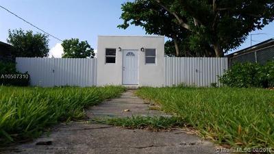 Miami FL Single Family Home For Sale: $225,000