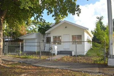 Miami Single Family Home For Sale: 1540 NW 46th St