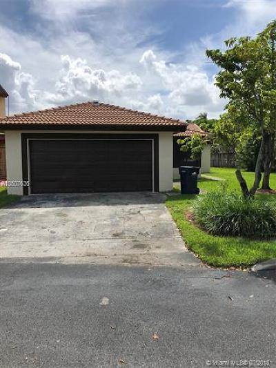 Miami Single Family Home For Sale: 1197 SW 133rd Place Cir