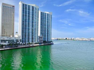 Miami-Dade County Condo For Sale: 901 Brickell Key Blvd #805