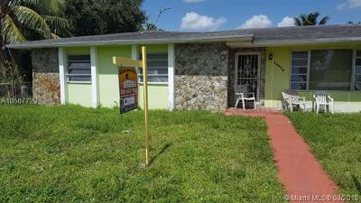 Miami Gardens Single Family Home For Sale: 16010 NW 37th Ct