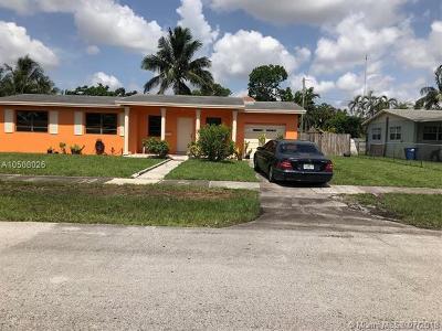 Miami Single Family Home For Sale: 19600 NE 1st Ct