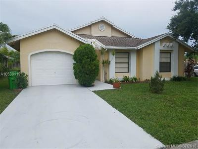 Sunrise Single Family Home For Sale: 3213 NW 106th Ave