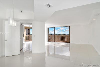 Miami-Dade County Condo For Sale: 19355 Turnberry Way #4A