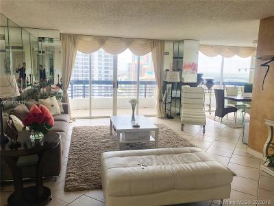 Aventura Condo For Sale: 3500 Mystic Pointe Dr #2903