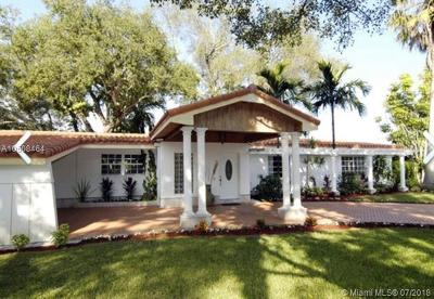 Pinecrest Single Family Home For Sale: 11920 SW 69 Court
