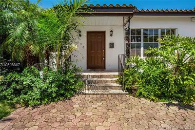 Miami Beach Single Family Home For Sale: 5130 Cherokee Ave