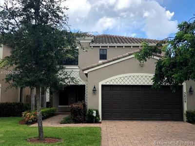 Palm Beach County Single Family Home For Sale: 3829 Aspen Leaf Drive