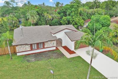 Cutler Bay Single Family Home For Sale: 18623 SW 83rd Pl