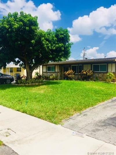Oakland Park Single Family Home For Sale: 1321 NW 41st Ct