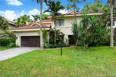 Coral Springs Single Family Home For Sale: 3600 High Pine Drive
