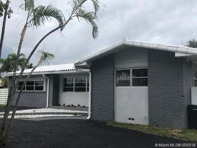 Miami Springs Single Family Home For Sale: 1191 Bluebird Ave