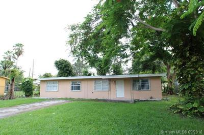 Florida City Single Family Home For Sale: 766 SW 7th St