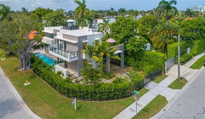 Miami Beach Single Family Home For Sale: 121 2nd Dilido Ter