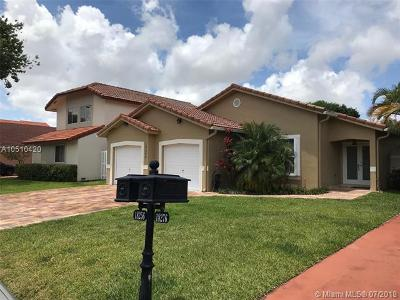 Hialeah Single Family Home For Sale: 18256 NW 61