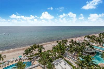 Hollywood Condo For Sale: 3535 S Ocean Dr #1001