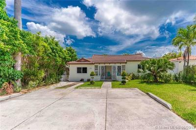 Miami Beach Single Family Home For Sale: 2155 Biarritz Dr