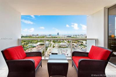 Miami Beach Condo For Sale: 1900 Sunset Harbour Dr #2307