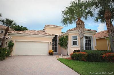 Delray Beach Single Family Home For Sale: 5557 Via De La Plata Cir