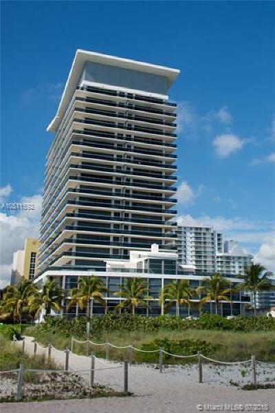 Miami Beach Condo For Sale: 5875 Collins Ave #1205
