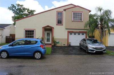 Hialeah Single Family Home For Sale: 19800 NW 65th Ct