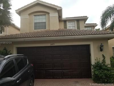 Royal Palm Beach Single Family Home For Sale: 11479 Blue Violet Ln