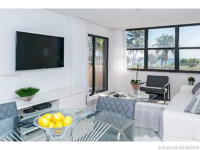 Miami Beach Condo For Sale: 2555 Collins Ave #303