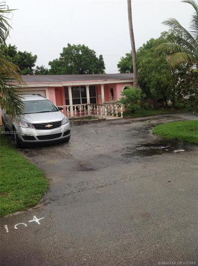 Miramar FL Single Family Home Pending Sale: $230,000