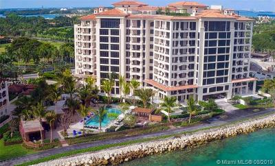 Miami Beach Condo For Sale: 7046 NE Fisher Island Dr #7046