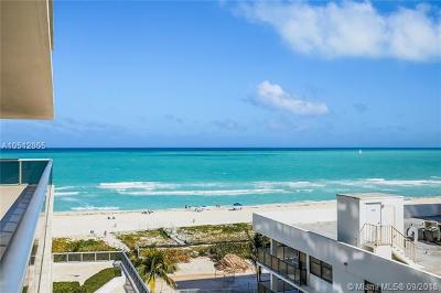 Miami Beach Condo For Sale: 5875 Collins Ave #804