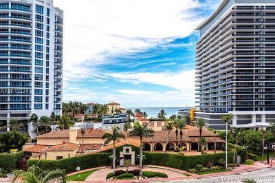 Miami Beach Condo For Sale: 5900 Collins Ave #602