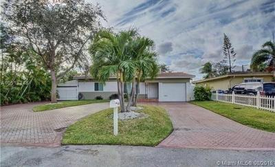 Fort Lauderdale Single Family Home For Sale: 801 NE 19th Terrace