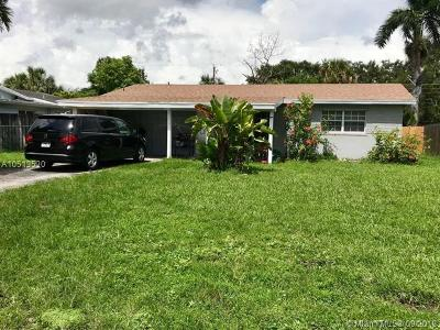 Fort Lauderdale Single Family Home For Sale: 4841 SW 29th Ave