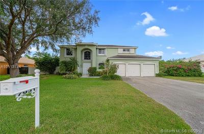 Cutler Bay Single Family Home For Sale: 7931 SW 186th St