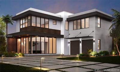 Miami FL Single Family Home For Sale: $2,699,900