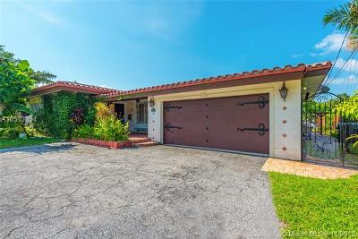 North Miami Single Family Home For Sale: 1840 Hibiscus Dr