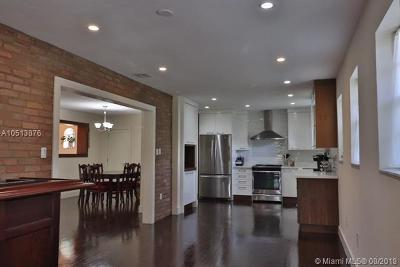 Coral Gables Single Family Home For Sale: 1541 Garcia Ave