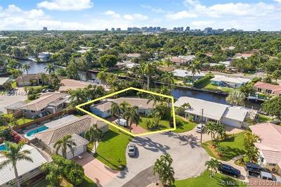 Wilton Manors Single Family Home For Sale: 2106 NE 16th Ave