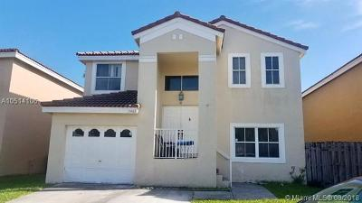 Margate Single Family Home Active With Contract: 7463 Viscaya Cir