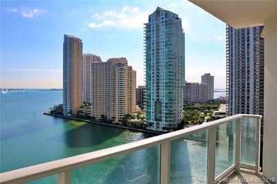 Miami Condo For Sale: 300 S Biscayne Blvd #T-1412