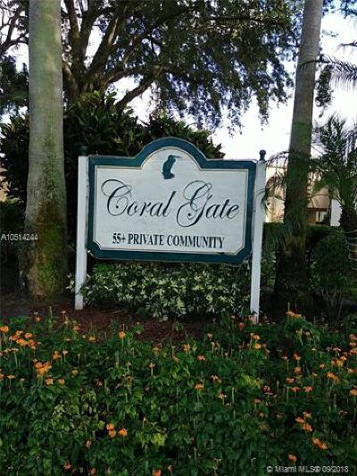 Margate Condo For Sale: 6023 Coral Lake Dr #211