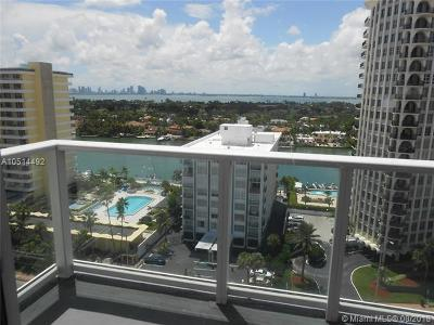 Miami-Dade County Condo For Sale: 5601 Collins Ave #1525