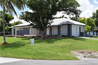 Cutler Bay Single Family Home For Sale: 18452 SW 88th Pl