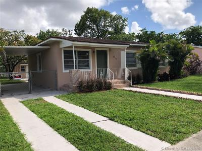 North Miami Single Family Home For Sale: 815 NW 134th St