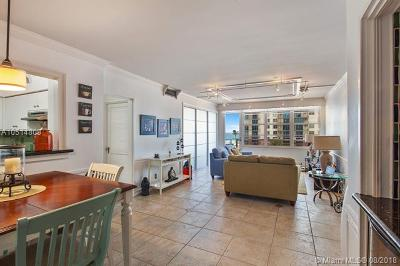Miami Beach Condo For Sale: 5700 Collins Ave #6D