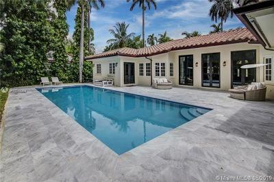 Miami Beach Single Family Home For Sale: 2532 Lake Ave